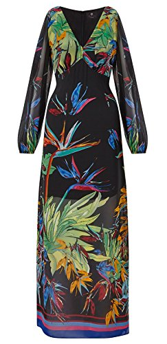 Rosey Slit Sleeve Maxi Dress