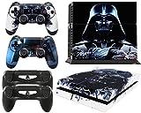 giZmoZ n gadgetZ GNG PS4 Konsolen-Gehäuseaufkleber, Motiv: Darth Vader von Starwars, inklusive 2er-Set mit Aufklebern für Controller