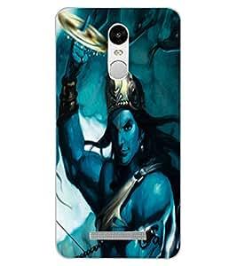 ColourCraft Lord Krishna Design Back Case Cover for XIAOMI REDMI NOTE 3