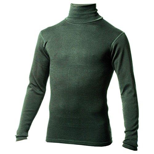 MINUS33Merino Wool Men' s Kinsman Midweight Dolcevita Forest Green Heather