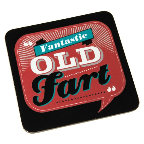 Back Chat Backchat 'Fantastic Old Fart'Untersetzer