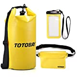 Borsa Impermeabile (20L) Custodia Cellulare Impermeabile Sacca Impermeabile(Marsupio) 3 in 1, Kit impermeabile con Sacco Dry Bag, Waterproof Case, Marsupio Impermeabile IPX8&IPX6 Certified - TOTOBAY - amazon.it