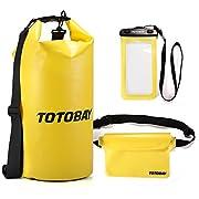 TOTOBAY® TOTOBAY è specializzata in prodotti per esterni di sport di alta qualità. Godere di sport all'aria aperta con TOTOBAY!3 in 1 Kit impermeabili:✔Borsa Impermeabile (20L) ✔Custodia Cellulare Impermeabile ✔Marsupio Impermeabile. Soddisfa...