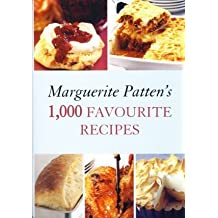 Marguerite Patten's 1,000 Favourite Recipes by Marguerite Patten (1855-08-06)