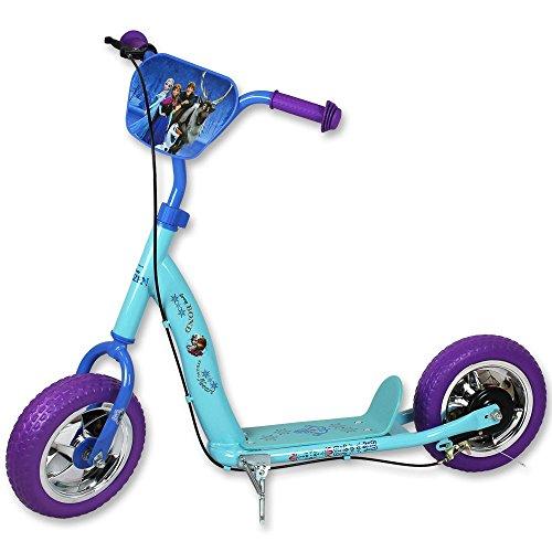 10 Zoll Kinderroller - Disney Tretroller - Roller - Tretroller 10 Zoll mit Motivauswahl (Frozen)