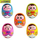 TOY-STATION Huile Roly poly Tumbler Doll...