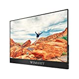 WIMAXIT External Touchscreen Monitor,15.6 Inch Ulta-slim 1920x1080 16:9 Display Type-C/USB C Monitor Compatible