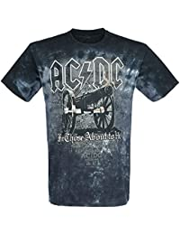 AC/DC For Those About To Rock - Cannon T-Shirt black