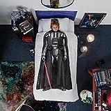 SNURK - Darth Vader-Bettwäsche Star Wars Edition - 135x200 cm: Star Wars Bettwäsche