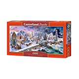 Castorland B-060184 Holiday at Seaside, Puzzle 600 Teile