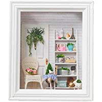 Miniature DIY House Kit Life Scene Photo Frame Handicraft Xmas Gift