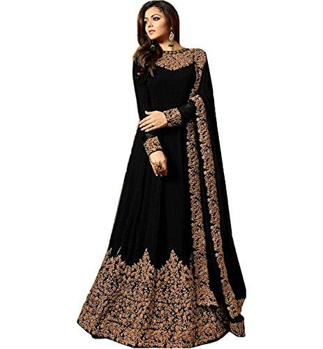 Sretan Women's Gown latest design suit salwar suit material for women suit...