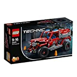 LEGO 42075 Technic First Responder Engine-Fire Truck Construction Set, Multicolored