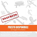 FFitness OFFERTA TOTAL POWER BODY CRUNCH con display computerino LCD HOME FITNESS TRAINER ATTREZZO MULTIFUNZIONE per PETTORALI, GLUTEI, ADDOMINALI, GAMBE E BRACCIA