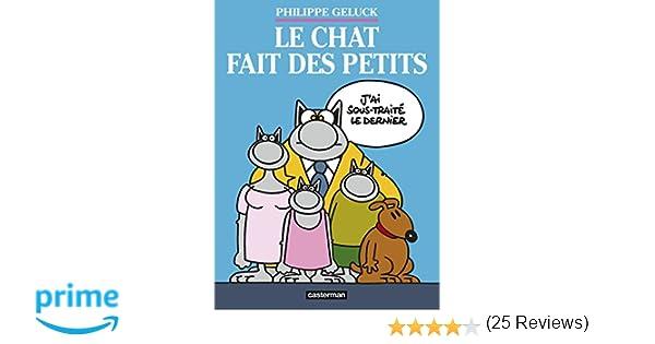Amazon.fr le chat tome 20 : le chat fait des petits coffret 3