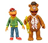 Muppets The SEP158428 Select Series 1 Fozzie and Scooter Action Figure