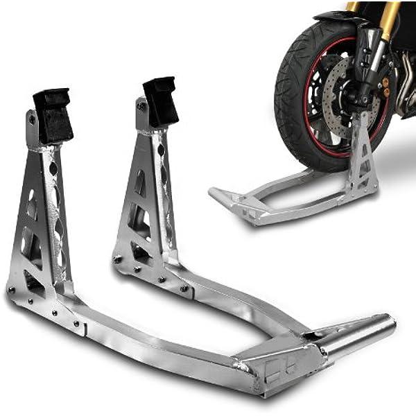 Constands Motorrad Montageständer Motorradheber Vorderrad Vorne Superlight Front Silber Auto