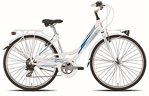 LEGNANO BICICLETA 441SMERALDA LADY 7V TALLA 44BLANCO (CITY)/BICYCLE 441SMERALDA LADY 7S SIZE 44WHITE (CITY)