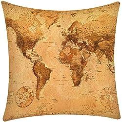 Dtuta Coussins Pillowcase Linge De Lit Et Oreillers Taie d'oreiller Douce Confortable De Mode De Polyester DéCoration De Maison 45 * 45Cm