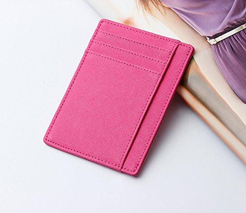 Faysting EU vari colori donna borsellino donna portafoglio clamshell fashion stile buon regalo J