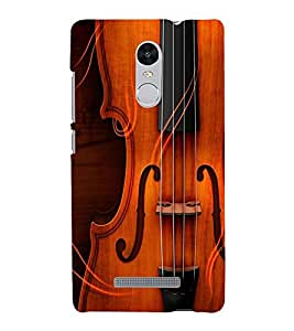 FUSON Stylish Guitar Back Case Cover for Xiaomi Redmi Note 3