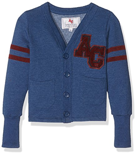 American College JBEAUMONT2, Cardigan Bambino, Bleu (Patriot Blue), 12 Anni