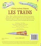 Image de Les trains - P'tits curieux Usborne