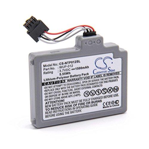vhbw litio-polimeri batteria 1500mAh (3.7V) per console di gioco Nintendo Wii U Gamepad (WUP-010)