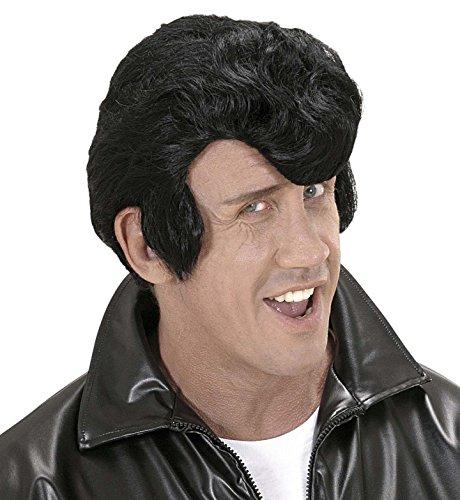 Widmann Perruque, modèle Rockabilly, noir