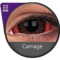 Kontaktlinsen Festive ohne Stärke Phantasee Modell Sclera 22mm Blutbad