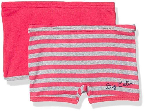 Absorba Underwear Baby-Mädchen Höschen Big Calins Fille 2er Pack, Rosa (Passion 96), 80 (Herstellergröße: 1A)