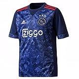 adidas Ajax 2017–2018A JSY Y, Shirt Kind, Kinder, Ajax 2017-2018 a JSY Y, Blu (Azuosc/Rojfue)