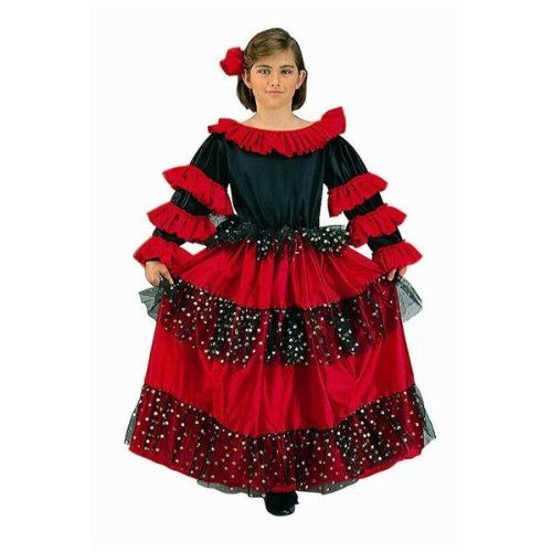 (RG Kost-me 91071-L Spanish Beauty Kost-m - Gr--e Child-Large)
