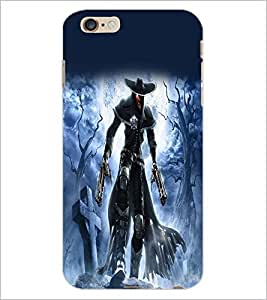PrintDhaba Warrior D-2078 Back Case Cover for APPLE IPHONE 6 PLUS (Multi-Coloured)