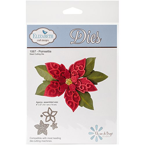 Elizabeth Craft Metal Die Poinsettia