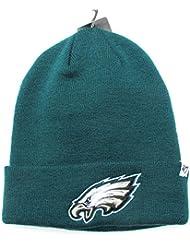 Eagles de Philadelphie sur champ vert pliable Bonnet tricot bonnet NFL