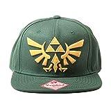 Nintendo Mütze - Zelda Kappe grün mit Gold-Logo