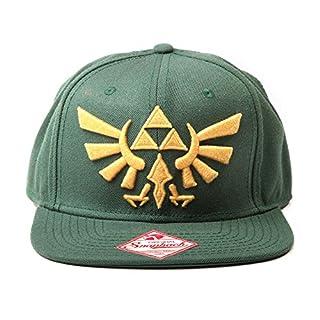 Nintendo Mütze - Zelda Kappe grün mit Gold-Logo (B00EF2SXIU) | Amazon Products