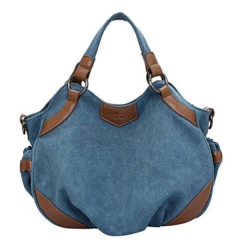 SHUhua ,  Damen Tasche blau