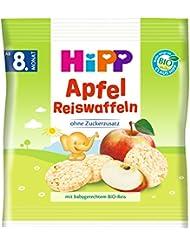 Hipp Apfel Reiswaffeln, 30 g