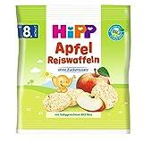 HiPP Apfel Reiswaffeln, ab dem 8. Monat, 7er Pack (7 x 30 g)