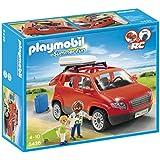 Playmobil - 5436 - Figurine - Voiture Avec Coffre De Toit
