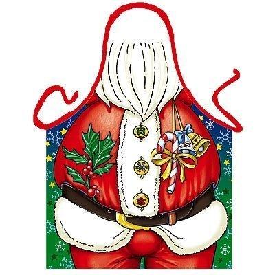 Cuoco/grembiule Babbo Natale