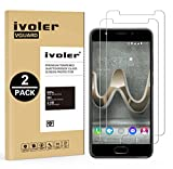 [Lot de 2] Wiko U Feel Prime Protection écran, iVoler [0.20 mm Dureté 9H] Film Protection d'écran en Verre Trempé Glass Screen Protector Vitre Tempered pour Wiko U Feel Prime - Dureté 9H, Ultra-mince 0.20 mm, 2.5D Bords Arrondis- Anti-rayure, Anti-trace