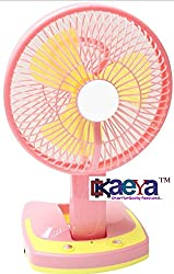 OKaeYa JY SUPER 5590 Powerful Rechargeable Fan with 21SMD LED lights