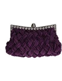 VENI MASEE®® Strick-Stil prom & Party Abend Handtasche mit Kristallen, clutch bag, Geschenkideen - Farben verschiedenen, Preis/Stück