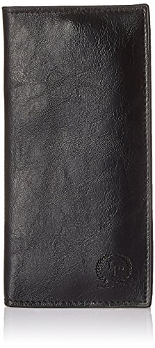 Lino Perros Women's Wallet (Black)  available at amazon for Rs.416