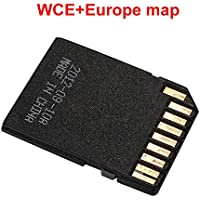 Haihuic Europa Mapa de navegación GPS Sistema Windows CE Tarjeta de Memoria de 16GB para el Reproductor de DVD estéreo para el automóvil en el Tablero Navegador GPS