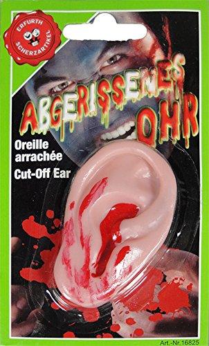 Abgerissenes Blutendes Ohr Halloween Horror
