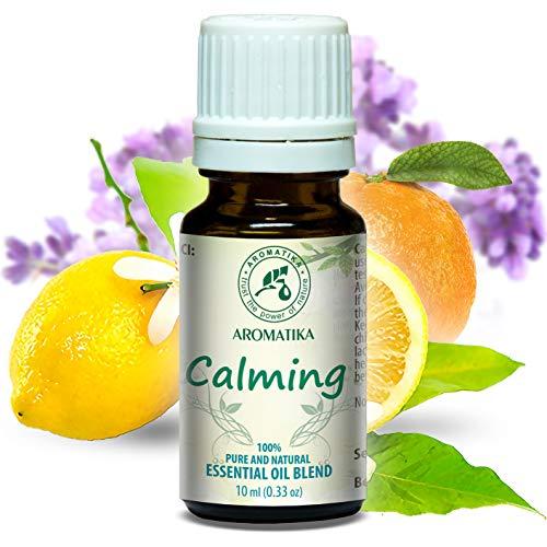 Mélange de fragrances relaxantes - calmantes - 10ml mélange aromatique apaisant à l'huile essentielle de lavande 100% naturelle - parfum naturel - idéale pour bien dormir - détente - aromathérapie - Diffuseur d'arôme - Lampe arôme
